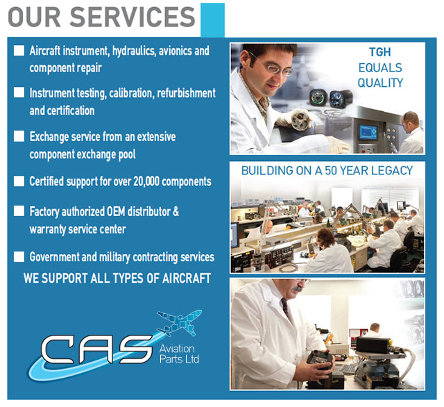 cas aviation parts ltd